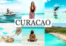 Free Curacao Lightroom Preset