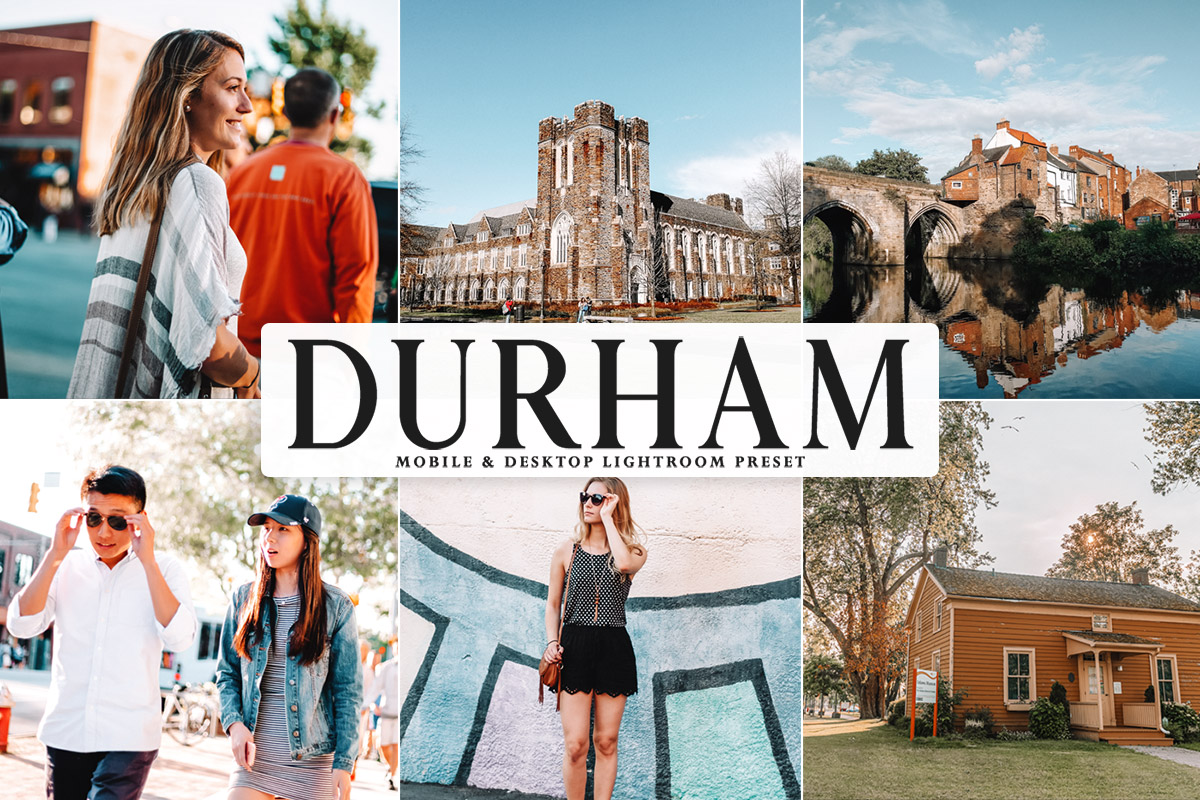 Free Durham Lightroom Preset