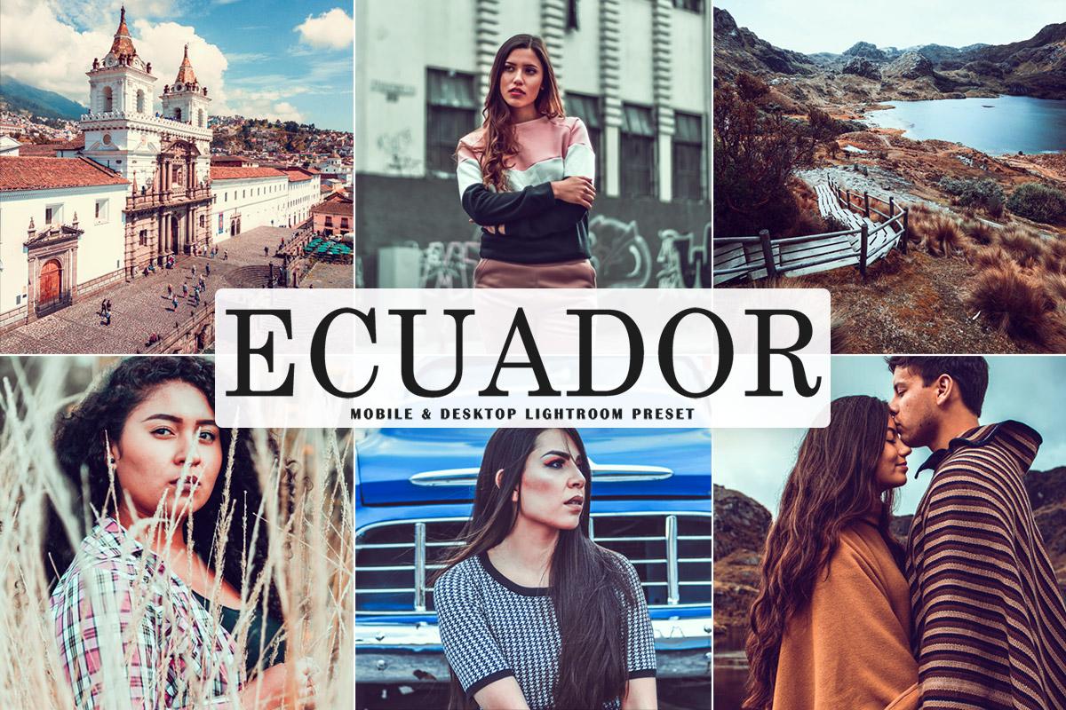 Free Ecuador Lightroom Preset