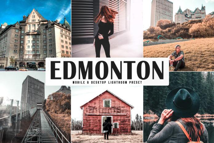 Free Edmonton Lightroom Preset