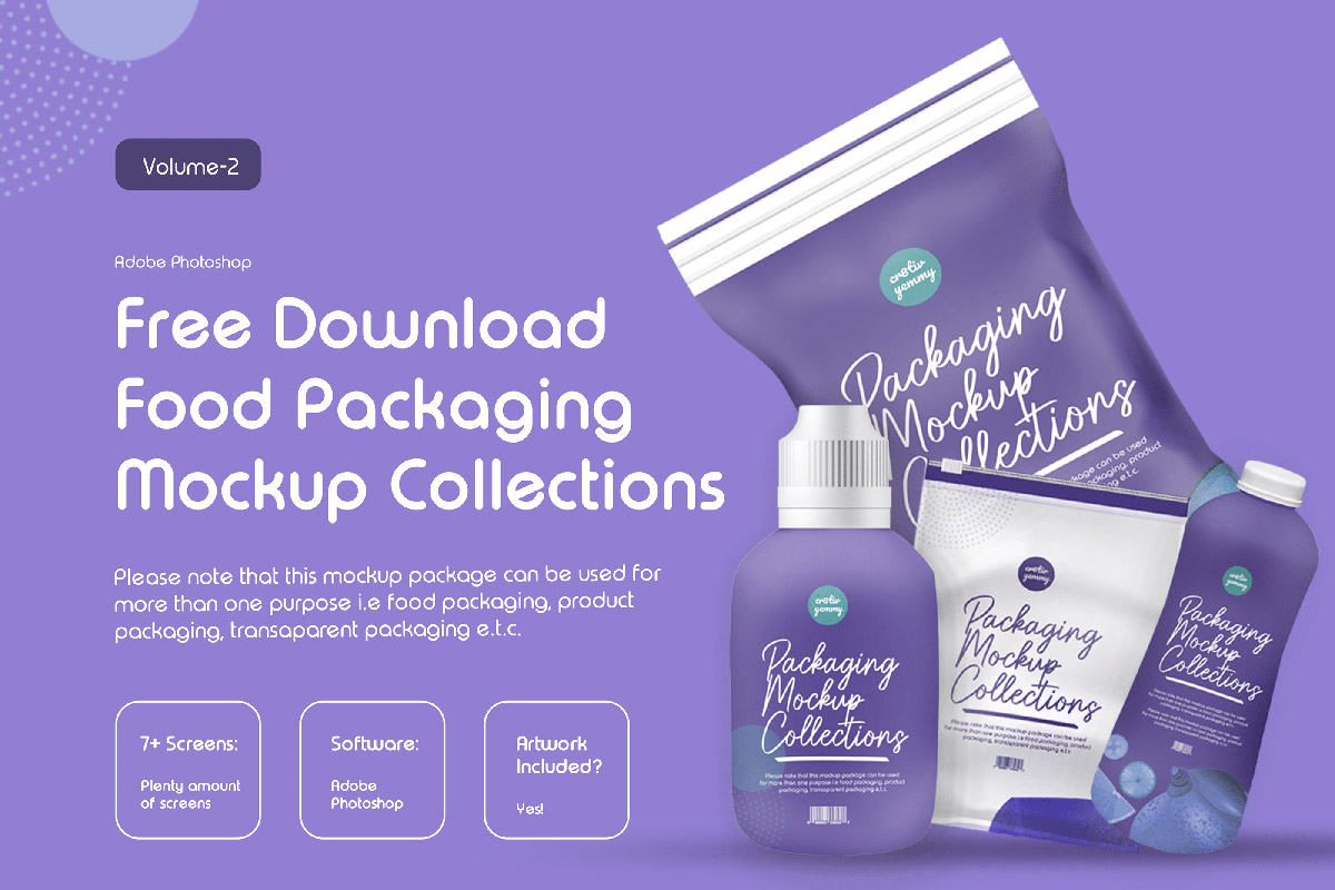 Free Packaging Mockup Collection V2