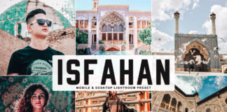 Free Isfahan Lightroom Preset