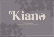 Free Kiano Serif Font