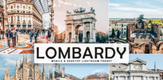 Free Lombardy Lightroom Preset