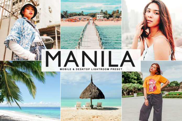 Free Manila Lightroom Preset