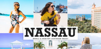 Free Nassau Lightroom Preset