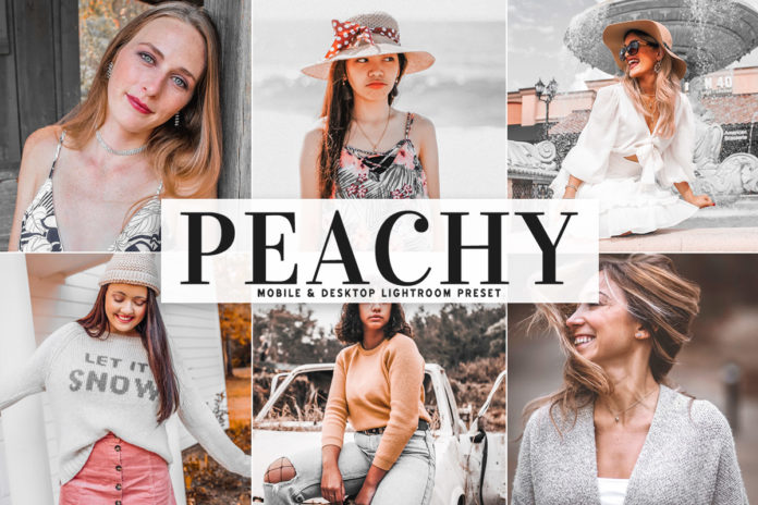 Free Peachy Lightroom Preset