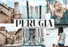 Free Perugia Lightroom Preset