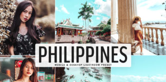 Free Philippines Lightroom Preset