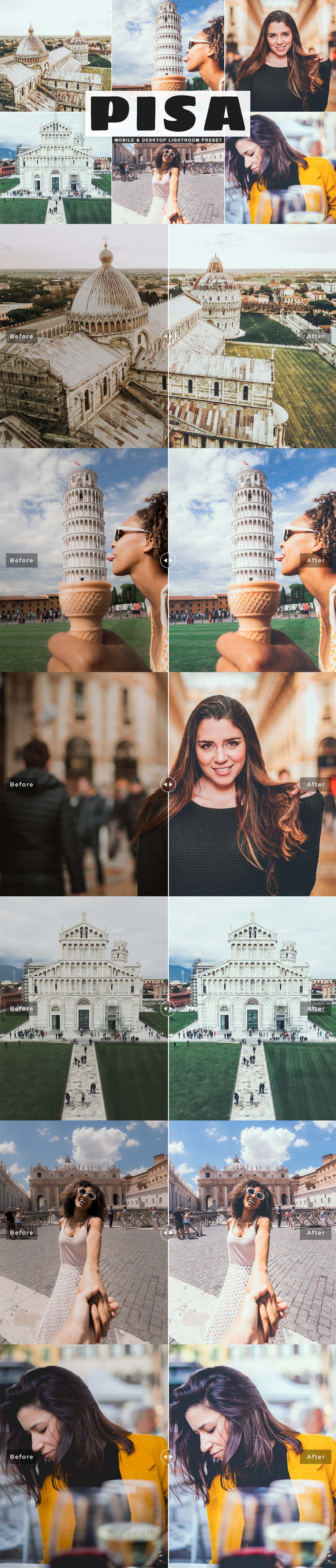 Free Pisa Lightroom Preset