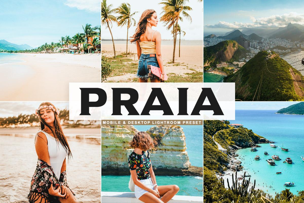 Free Praia Lightroom Preset