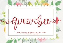Free Queenbee Script Font
