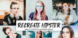 Free Recreate Hipster Lightroom Preset