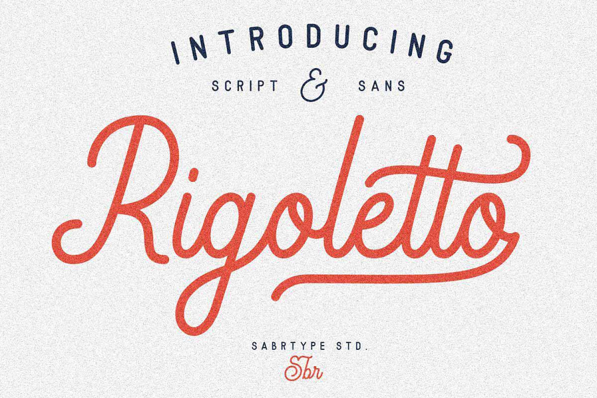 Free Rigoletto Script Font