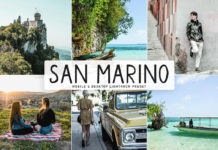 Free San Marino Lightroom Preset