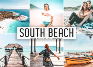 Free South Beach Lightroom Preset