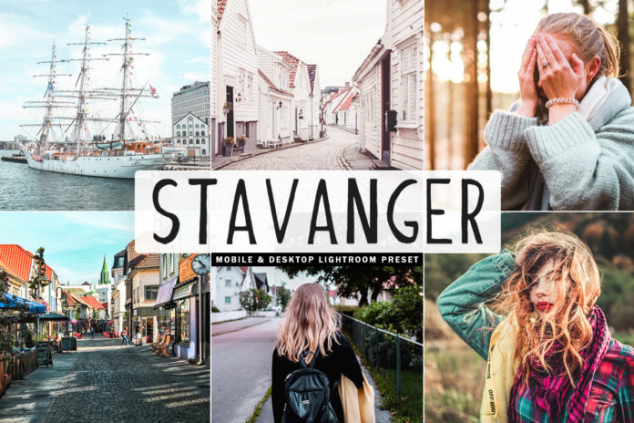 Free Stavanger Lightroom Preset