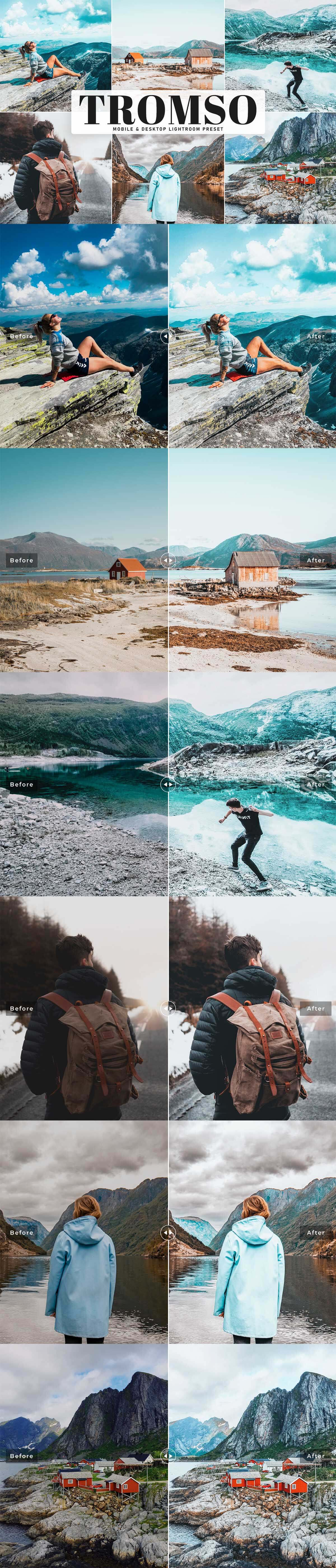 Free Tromso Lightroom Preset
