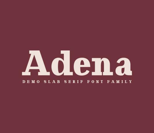 Free Adena Slab Serif Font Family