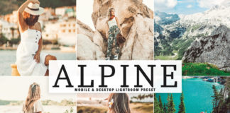 Free Alpine Lightroom Preset