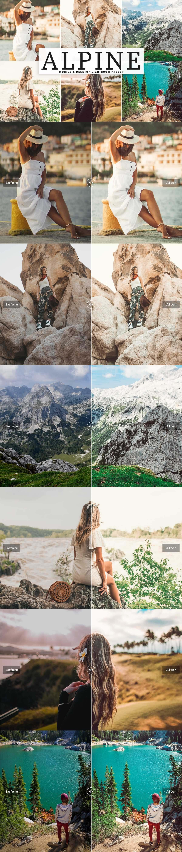 Free Alpine Lightroom Preset