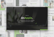 Free AnApple Presentation Template