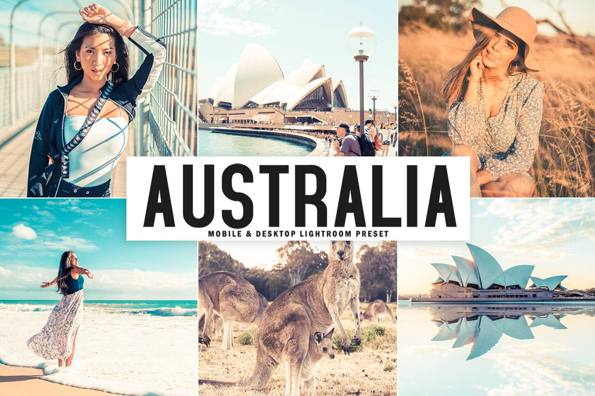 Free Australia Lightroom Preset