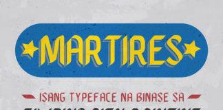 Free BBT Martires Fancy Font Family