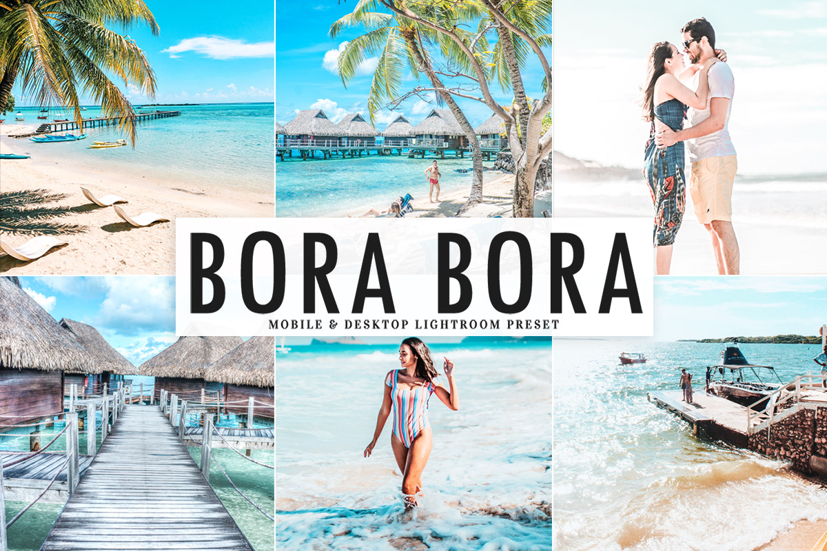 Free Bora Bora Lightroom Preset