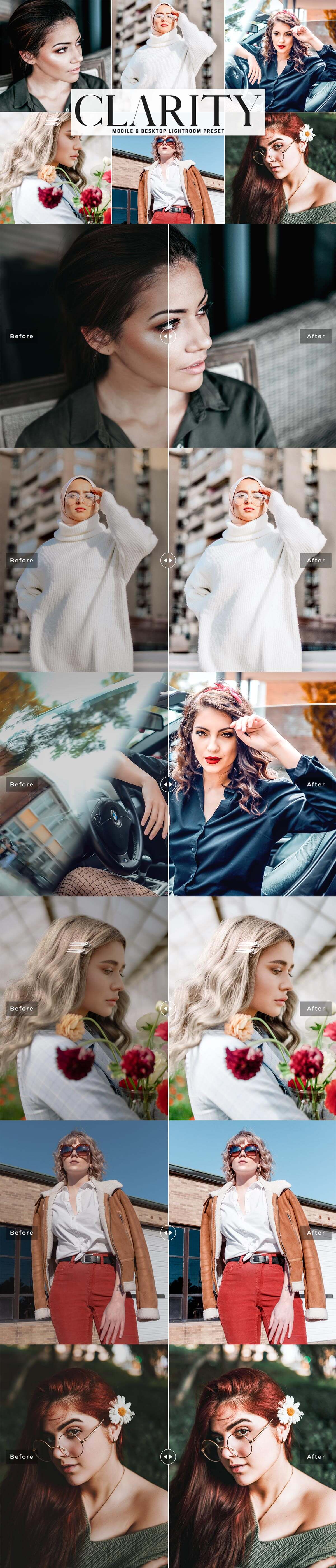 Free Clarity Lightroom Preset