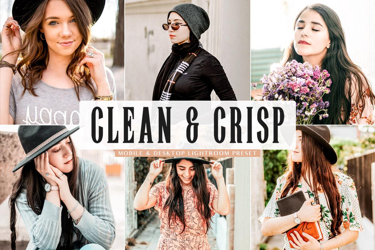 Free Clean & Crisp Lightroom Preset