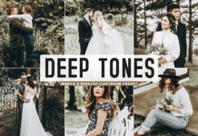 Free Deep Tones Lightroom Preset