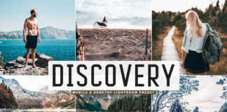 Free Discovery Lightroom Preset