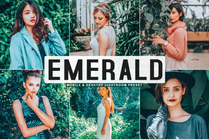Free Emerald Lightroom Preset