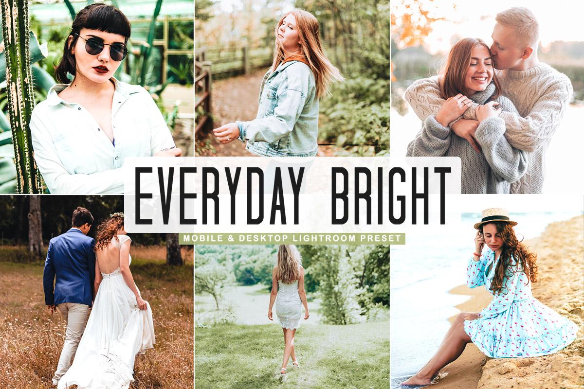 Free Everyday Bright Pro Lightroom Preset