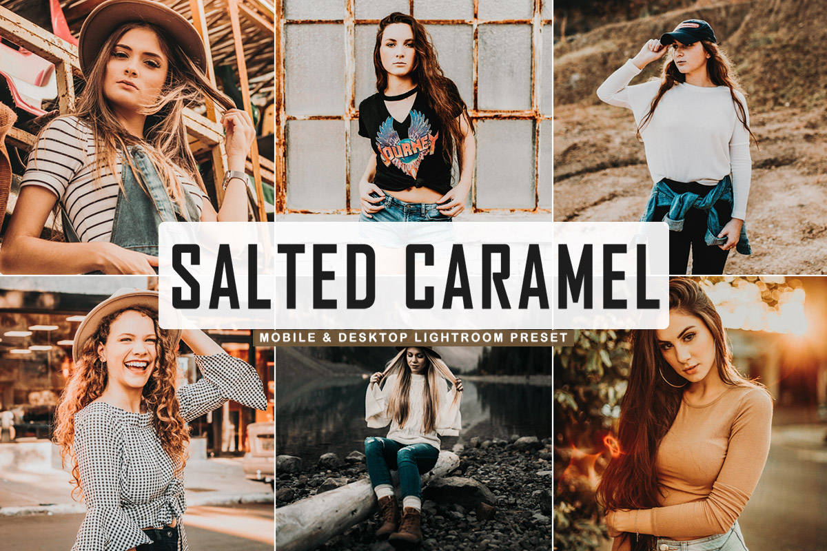 Free Salted Caramel Lightroom Preset