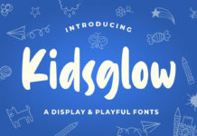 Free Kidsglow Playful Display Font