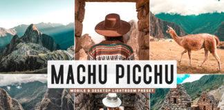 Free Machu Picchu Lightroom Preset
