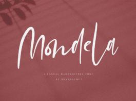 Free Mondela Handwritten Font