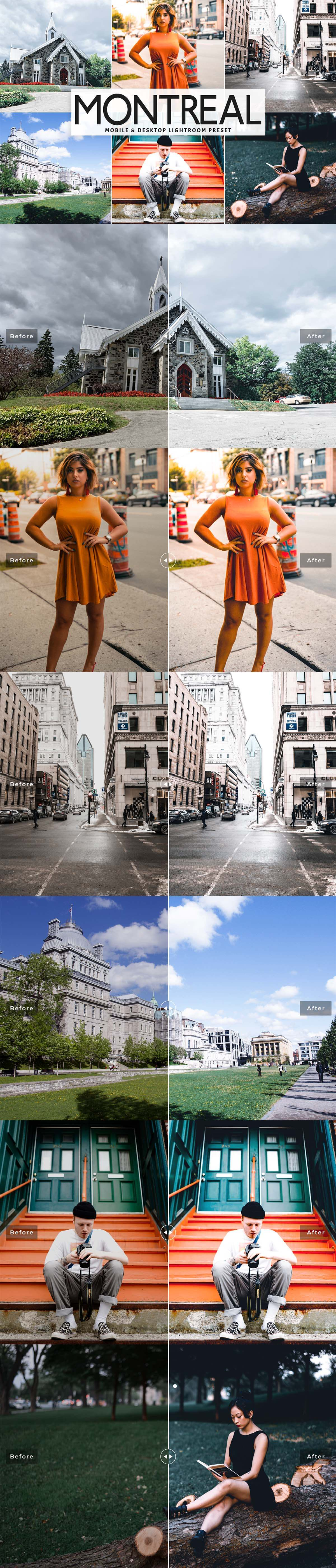 Free Montreal Lightroom Preset
