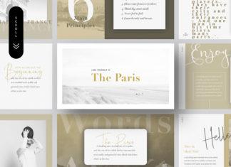 Free Paris Presentation Template