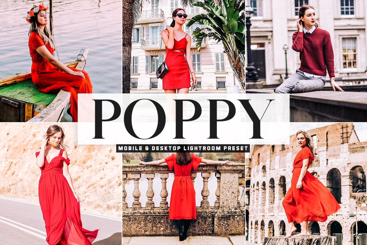 Free Poppy Lightroom Preset