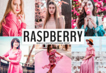 Free Raspberry Lightroom Preset