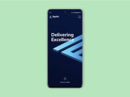 Free Samsung S20 PSD Mockup