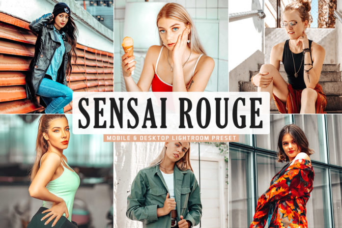Free Sensai Rouge Lightroom Preset