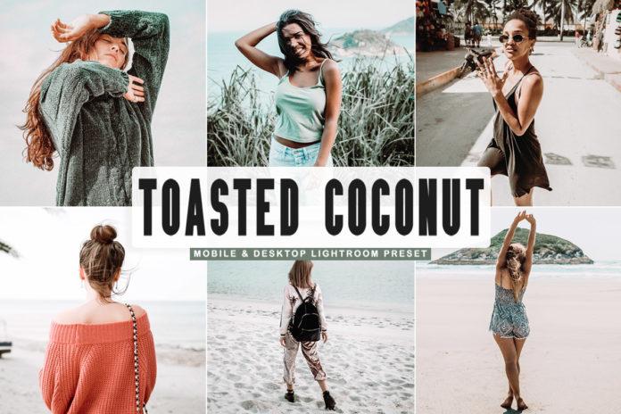 Free Toasted Coconut Lightroom Preset