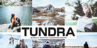 Free Tundra Lightroom Preset