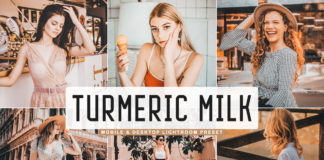 Free Turmeric Milk Lightroom Preset