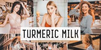 Free Turmeric Milk Lightroom Preset