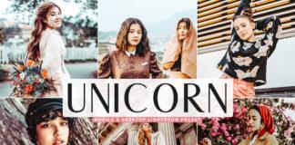 Free Unicorn Lightroom Preset
